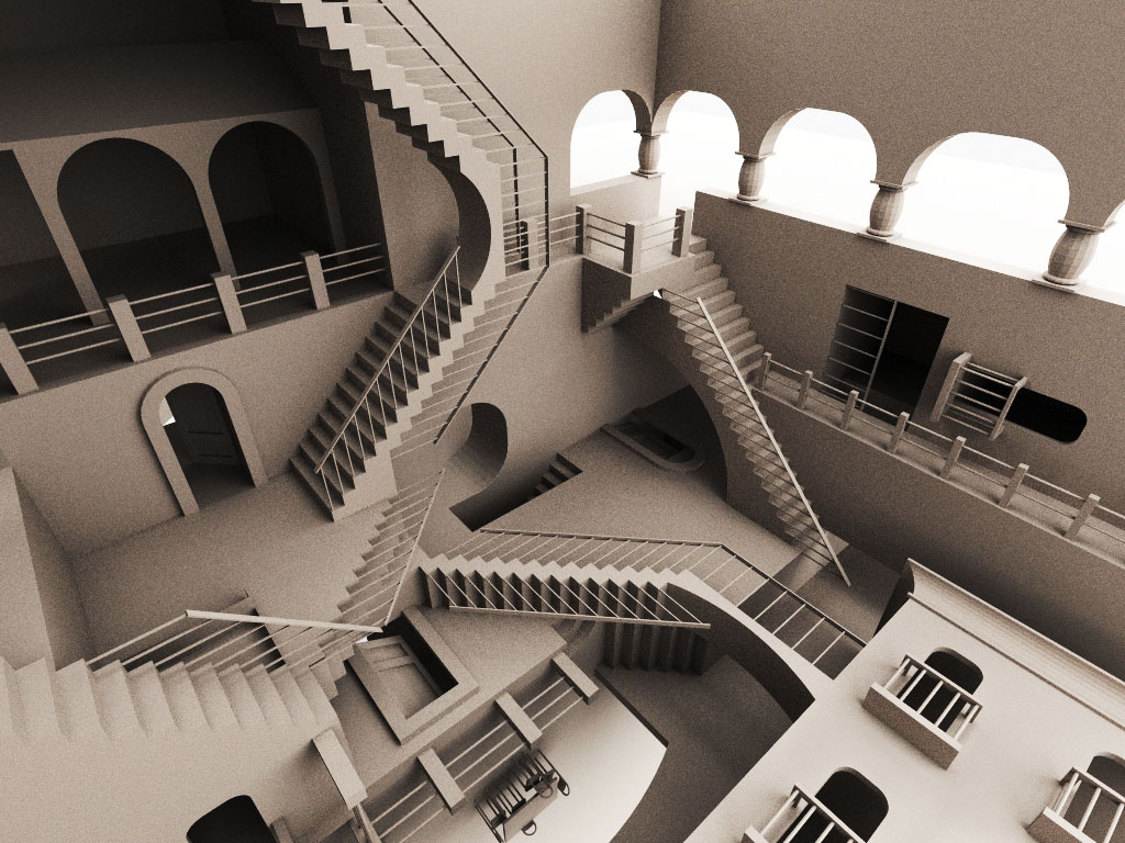 Optical Illusion Stairs Baby Got Optical Illusions