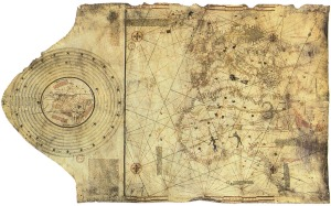 Christopher Columbus' Map of the New World from c.1490